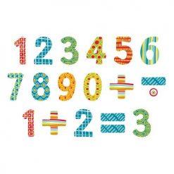 Liczby - Drewniane magnesy