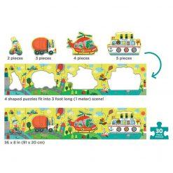 Metrowe puzzle Transport
