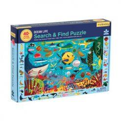 Puzzle szukaj i znajdź – Życie oceanu