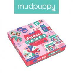 Zestaw 4 gier planszowych Księżniczka | ZabawkiRozwojowe.pl - zabawki edukacyjne dla dzieci