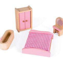 Domek dla lalek z meblami