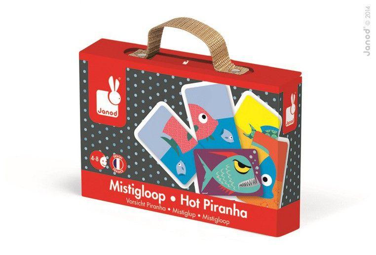 Gra karciana Gorąca pirania | ZabawkiRozwojowe.pl - Poznaj świat kreatywnych zabawek