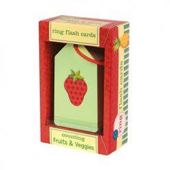 Karty do nauki liczenia Owoce i warzywa