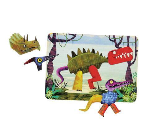 Magnetyczne konstrukcje Dinozaury