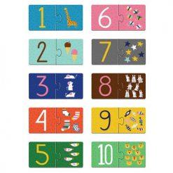 Puzzle do nauki liczenia