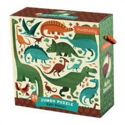 Puzzle podłogowe Jumbo Potężne dinozaury