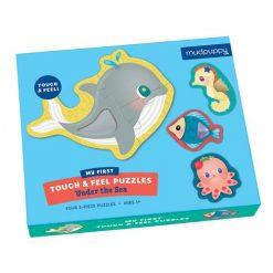Puzzle sensoryczne Pod wodą | ZabawkiRozwojowe.pl