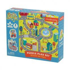 Puzzle zestaw W mieście