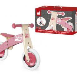 Rowerek biegowy różowy