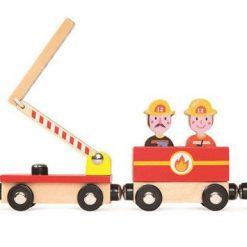 Pociąg drewniany Straż pożarna