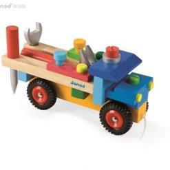 Drewniana ciężarówka do składania | ZabawkiRozwojowe.pl