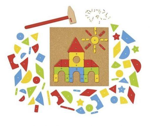 Drewniana przybijanka Goki | ZabawkiRozwojowe.pl - sklep internetowy z zabawkami rozwojowymi