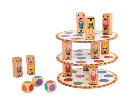 Gra zręcznościowa Akrobaci | ZabawkiRozwojowe.pl - zabawki edukacyjne dla dzieci