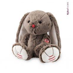 Brązowy królik - pluszowa zabawka | ZabawkiRozwojowe.pl