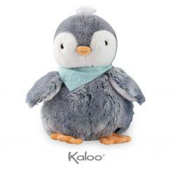 Szary Pingwin w pudełku