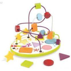 Pętla edukacyjna i puzzle - zabawka sensoryczna | ZabawkiRozwojowe.pl