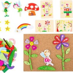 Drewniana przybijanka wróżki | ZabawkiRozwojowe.pl - sklep internetowy z zabawkami rozwojowymi