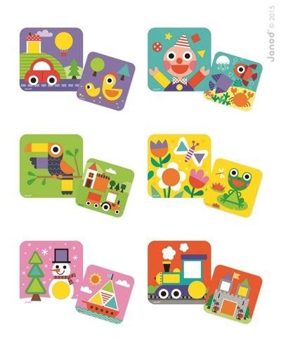 Układanka drewniana Poznaję kształty | ZabawkiRozwojowe.pl - sklep internetowy z zabawkami rozwojowymi
