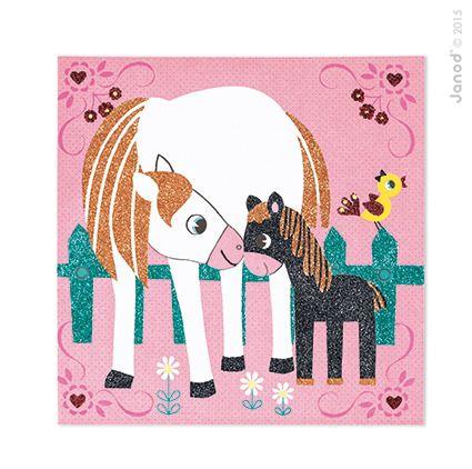 Magiczny brokat Świat koni