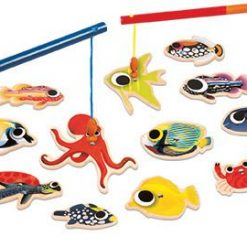 Zestaw do łowienia Magnetyczny ocean | ZabawkiRozwojowe.pl - zabawki edukacyjne dla dzieci