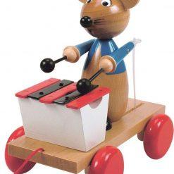 Klasyczna grająca mysz z dawnych lat | ZabawkiRozwojowe.pl