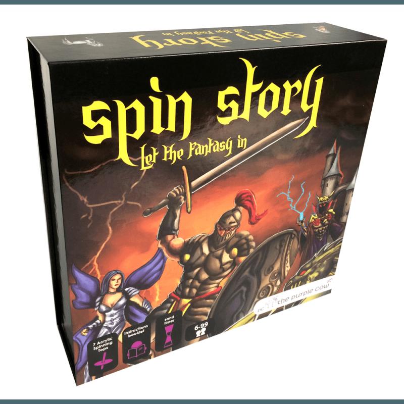 Gra Edukacyjna Spin Story | ZabawkiRozwojowe.pl - zabawki edukacyjne dla dzieci