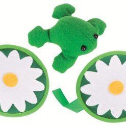 Gra zręcznościowa na rzepy Żaba - ZabawkiRozwojowe.pl - zabawki rozwojowe dla dzieci