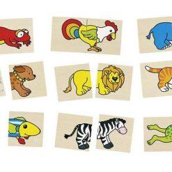 Puzzle i memo śmieszne zwierzęta | ZabawkiRozwojowe.pl - sklep internetowy z zabawkami rozwojowymi