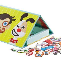 Magnetyczna książka – twarz