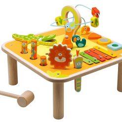 Multiaktywny stolik z instrumentami