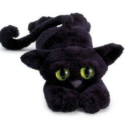 Czarny kot Lanky Cats - zabawka pluszowa | ZabawkiRozwojowe.pl