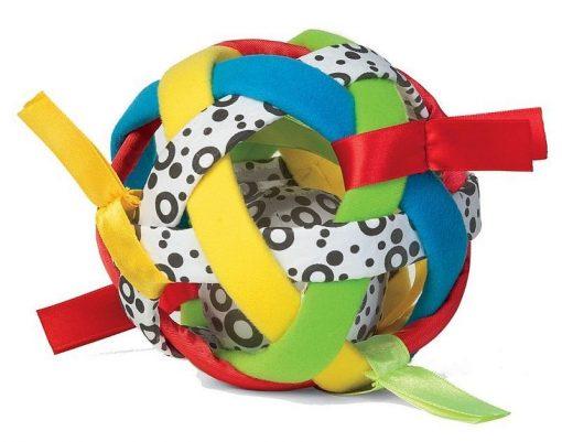 Kolorowa Piłka od Manhattan Toy | ZabawkiRozwojowe.pl