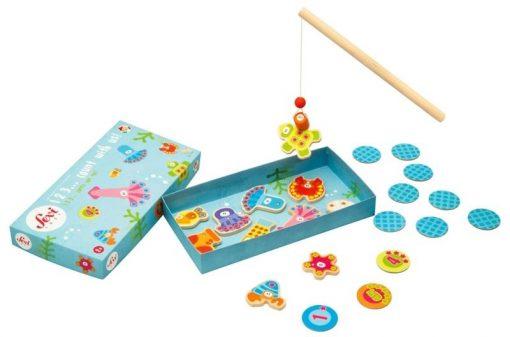 Gra zręcznościowa Matematyczne rybki   ZabawkiRozwojowe.pl - zabawki edukacyjne dla dzieci