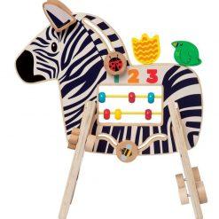 Zebra - kostka motoryczna dla dziecka | ZabawkiRozwojowe.pl