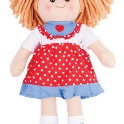 Duża szmaciana lalka Emilka