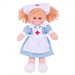 Szmaciana lalka pielęgniarka | ZabawkiRozwojowe.pl