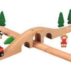 Drewniana kolejka