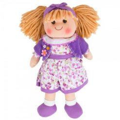 Duża szmaciana lalka Laura - zabawka pluszowa | ZabawkiRozwojowe.pl