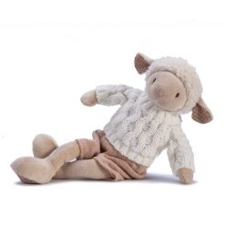 Owieczka Dylan - zabawka pluszowa | ZabawkiRozwojowe.pl