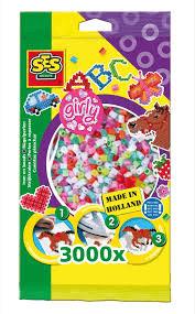 Koraliki - Dziewczęce kolory