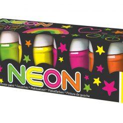 Super neonowe farby plakatowe