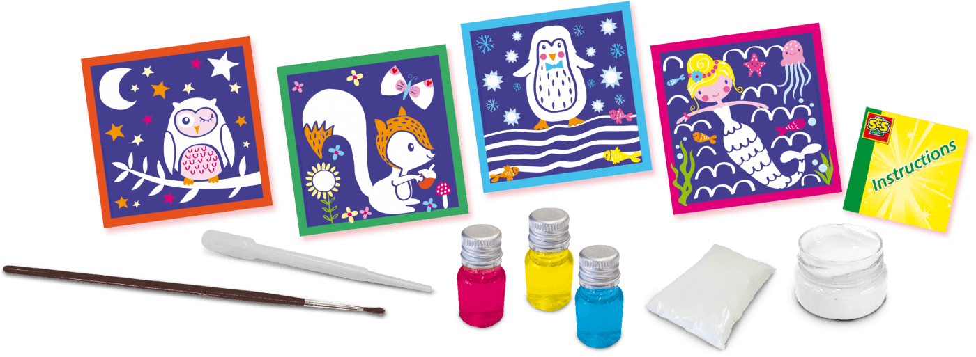 Kolorowanie solą