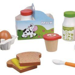 Zabawka drewniana śniadanie