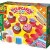Zestaw ciastolin Babeczki - zabawka plastyczna | ZabawkiRozwojowe.pl