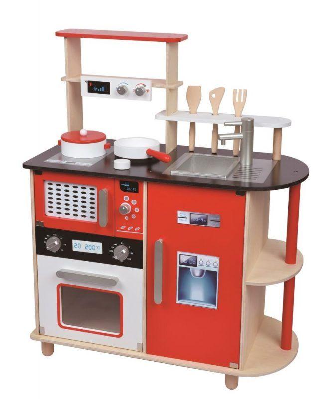 Drewniana nowoczesna kuchnia dla dzieci | ZabawkiRozwojowe.pl - sklep internetowy z zabawkami rozwojowymi