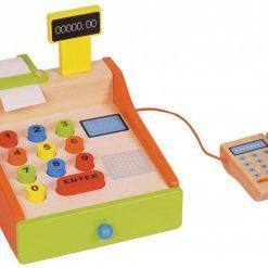 Drewniana Kasa Fiskalna dla dzieci | ZabawkiRozwojowe.pl - sklep internetowy z zabawkami rozwojowymi