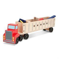 Duża ciężarówka z narzędziami