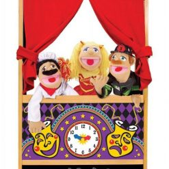 Duży teatr kukiełkowy dla dzieci