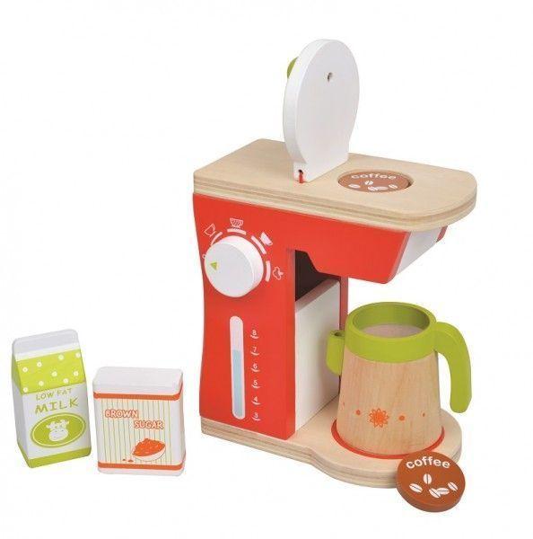 Drewniany ekspres do kawy AGD | ZabawkiRozwojowe.pl - sklep internetowy z zabawkami rozwojowymi