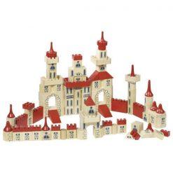 Drewniane klocki konstrukcyjne Zamek | ZabawkiRozwojowe.pl - sklep internetowy z zabawkami rozwojowymi